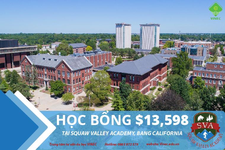 Du học Mỹ - Trung học Squaw Valley Academy