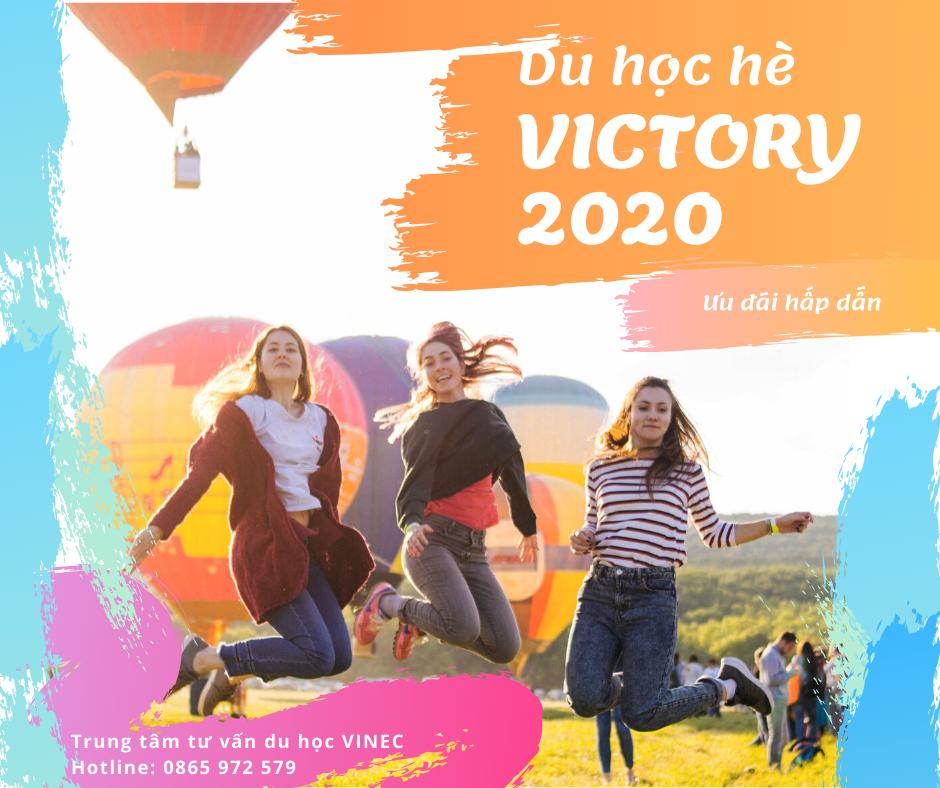 Ưu đãi Du học hè Mỹ - VICTORY Summer tour 2020