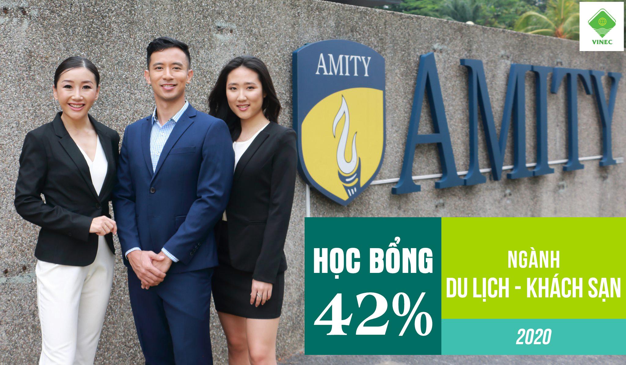 DU HỌC NGÀNH DU LỊCH KHÁCH SẠN VỚI HỌC BỔNG 42% TỪ AMITY SINGAPORE