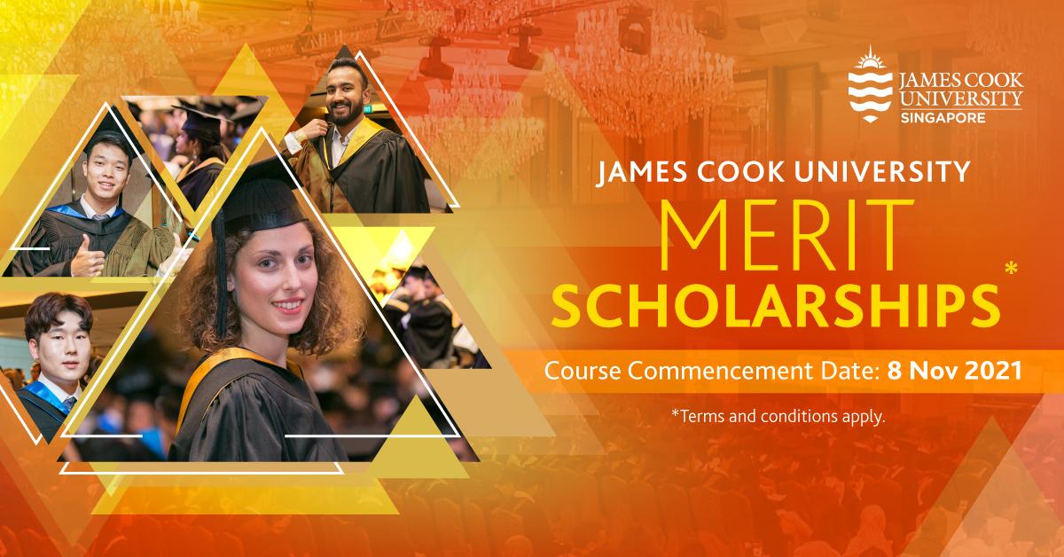 Học bổng Merit lên tới 100% học phí từ James Cook University- Singapore cho kỳ học tháng 11/2021