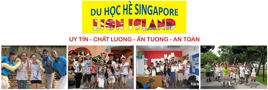 Lịch trình du học hè Singapore LION ISLAND 2019