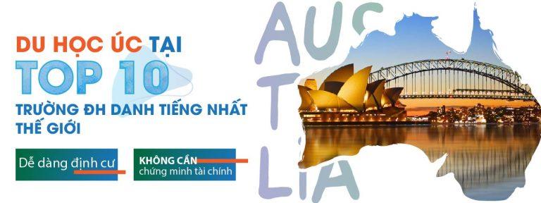 TOP 10 TRƯỜNG ĐẠI HỌC DANH TIẾNG NHẤT THẾ GIỚI CỦA AUSTRALIA
