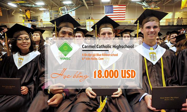 Cùng Vinec tìm hiểu trường THPT Carmel Catholic Highschool đạt hạng A+ trên Niche.com xem có gì đặc biệt nhé