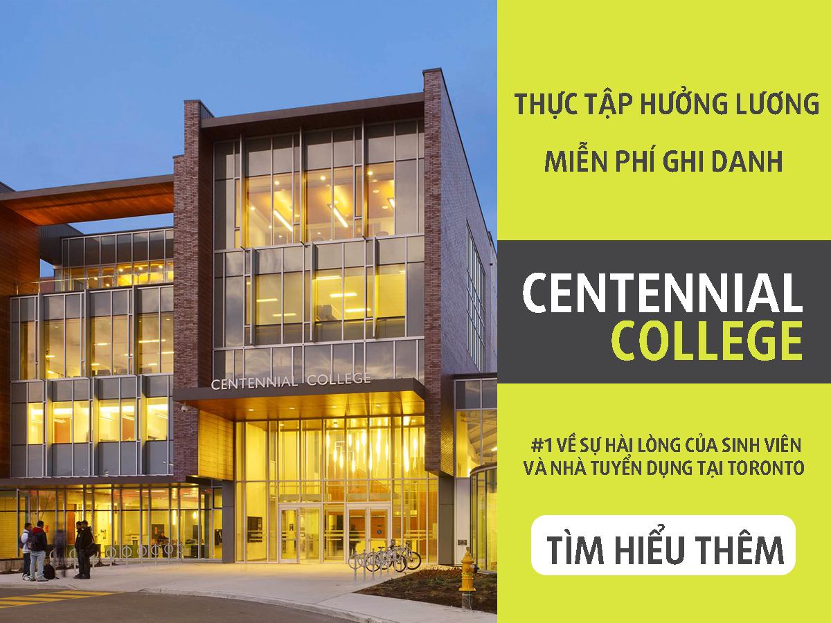 Cao đẳng Centennial, Canada – trường cao đẳng công lập tuyệt vời dành cho du học sinh