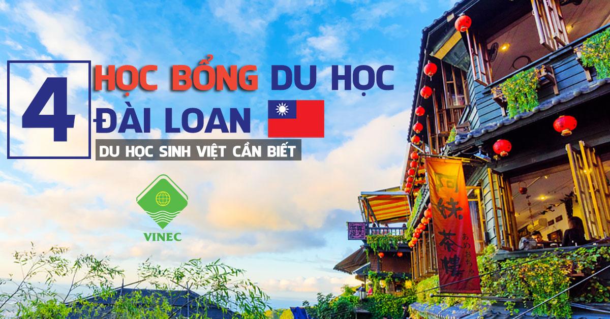 4 loại học bổng Đài Loan cho du học sinh Việt Nam phổ biến nhất