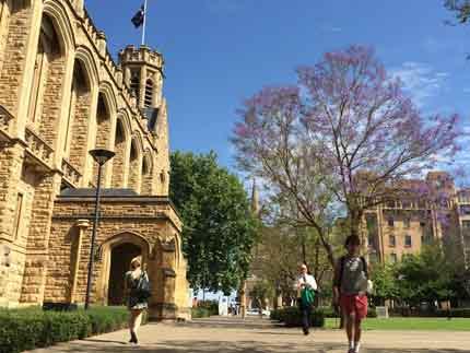 Chương trình Dự bị và Học bổng của các trường trong nhóm Go8 của Úc